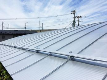素敵な屋根になりとても満足しています。またよろしくお願いします。